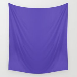 Plump Purple - solid color Wall Tapestry