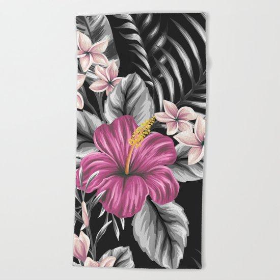 FLOWERS II Beach Towel