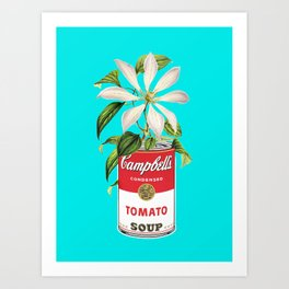 Floral & Campbell Art Print