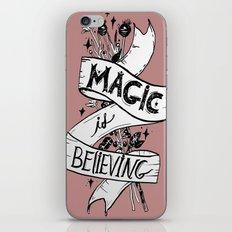 Magic Is Believing iPhone & iPod Skin
