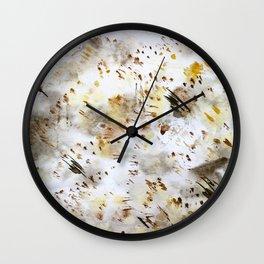 Cozy mess || watercolor Wall Clock
