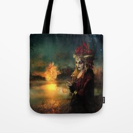 Setting the world on fire Tote Bag
