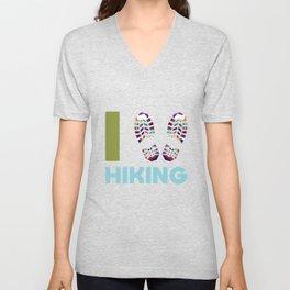 Hiking Shoes Unisex V-Neck