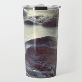 Rocks - Stones - Water Travel Mug