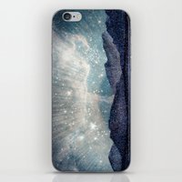 northern lights iPhone & iPod Skins featuring Northern lights by LisaB