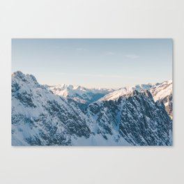 VIEWS FROM THE HEAVENS Canvas Print