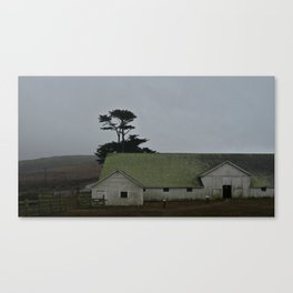 Milking Barn Canvas Print