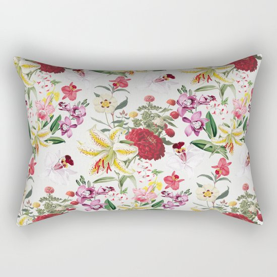 Botanical Garden VS021 Rectangular Pillow
