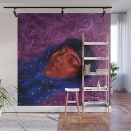 Float Among the Stars Wall Mural