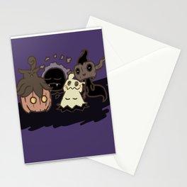 Ghostly Nap Stationery Cards