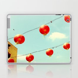 Lanterns III, Chinatown Laptop & iPad Skin