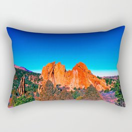 Bright Mountains of Colorado Rectangular Pillow