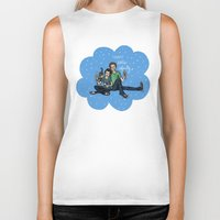fault in our stars Biker Tanks featuring The Fault in Our Stars by Sarah Hopkins