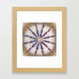 Suprasoriferous In The Raw Flowers  ID:16165-143630-08961 Framed Art Print