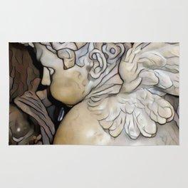 Angel in St Peter's Basilica Rug