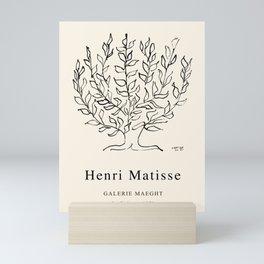 Exhibition poster Henri Matisse-Le buisson-1951. Mini Art Print