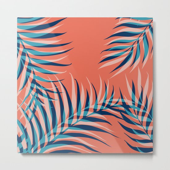 Palms Vision III #society6 #decor #buyart Metal Print