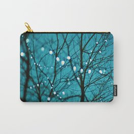 twinkly lights in a tree. Wonder Carry-All Pouch