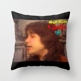 Magic Mike's Castle (Retro 1990 Version) Throw Pillow