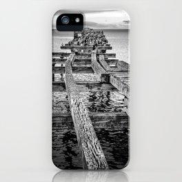 Derelict Pier iPhone Case