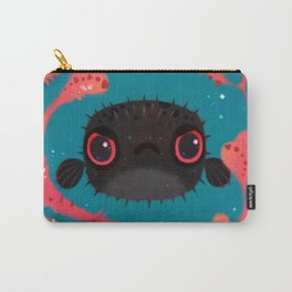 Angry puffer Carry-All Pouch