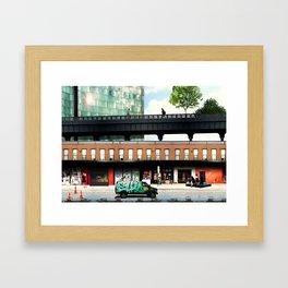 High life at the Standard - New York Framed Art Print