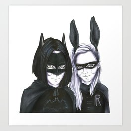 Super Babes Art Print