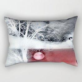Wolf's blood Rectangular Pillow