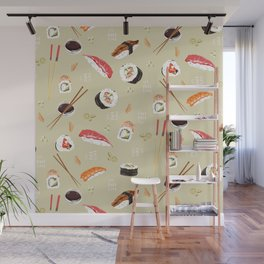 Sushi Party! Wall Mural