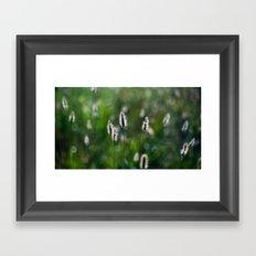 green summer Framed Art Print