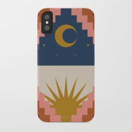 Day and Night Pattern iPhone Case