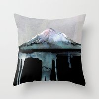 john Throw Pillows featuring The Island | by Dylan Silva & Georgiana Paraschiv by Georgiana Paraschiv