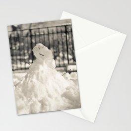 New York I - Snowman Stationery Cards