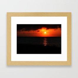 Cape Sunset Framed Art Print