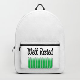 Well Rested Backpack