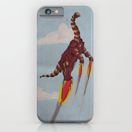 Iron Brontosaurus - Superhero Dinosaurs Series iPhone Case