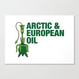 Arctic & European Oil Canvas Print