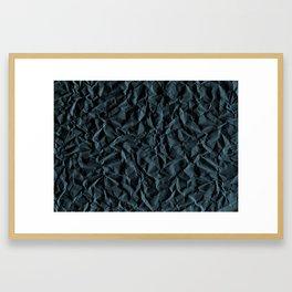 Crumpled Paper 03 Framed Art Print
