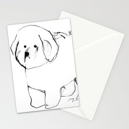 OPD Bichon Frise Stationery Cards