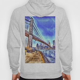 Brooklyn Bridge New York Art Hoody