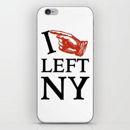 I Left NY iPhone Skin