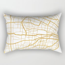 ST. LOUIS MISSOURI CITY STREET MAP ART Rectangular Pillow