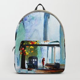 Tardis Stay Watching The Girl Backpack