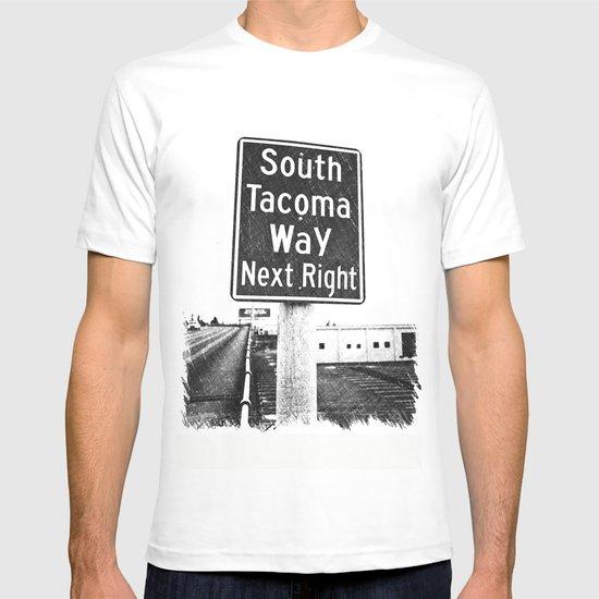 South Tacoma Way exit T-shirt
