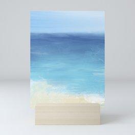 Blue Seascape Mini Art Print