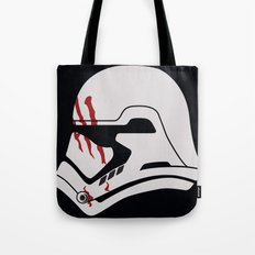 Finn Stormtrooper Profile Tote Bag