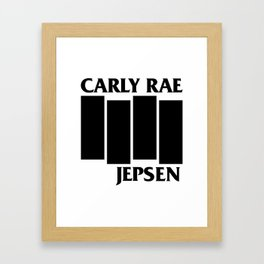 CRJ Flag Framed Art Print