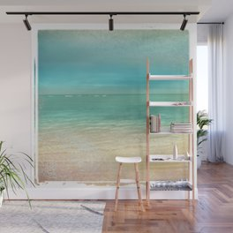 Turquoise Sea Wall Mural