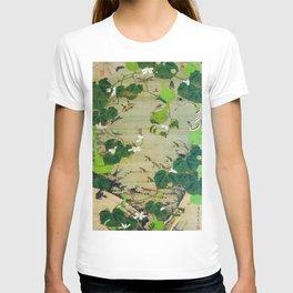 12,000pixel-500dpi - Ito Jakuchu - Pond insects - Digital Remastered Edition T-shirt