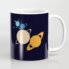 Solar System Unicorn Coffee Mug